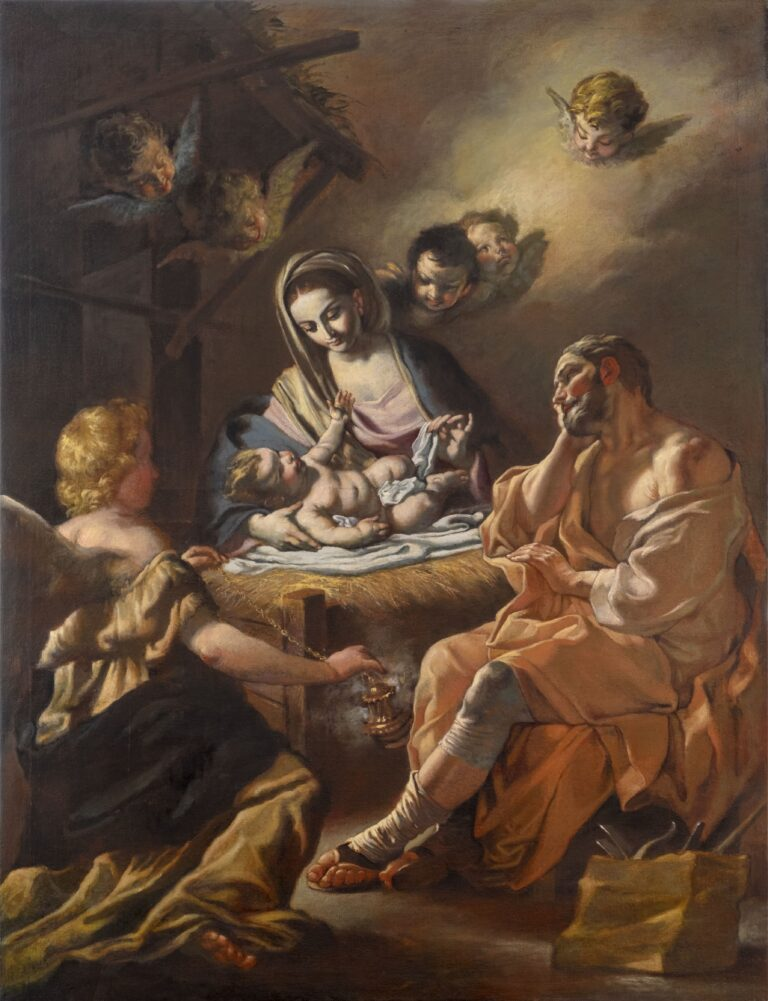 Natività_da Francesco Solimena_130x100