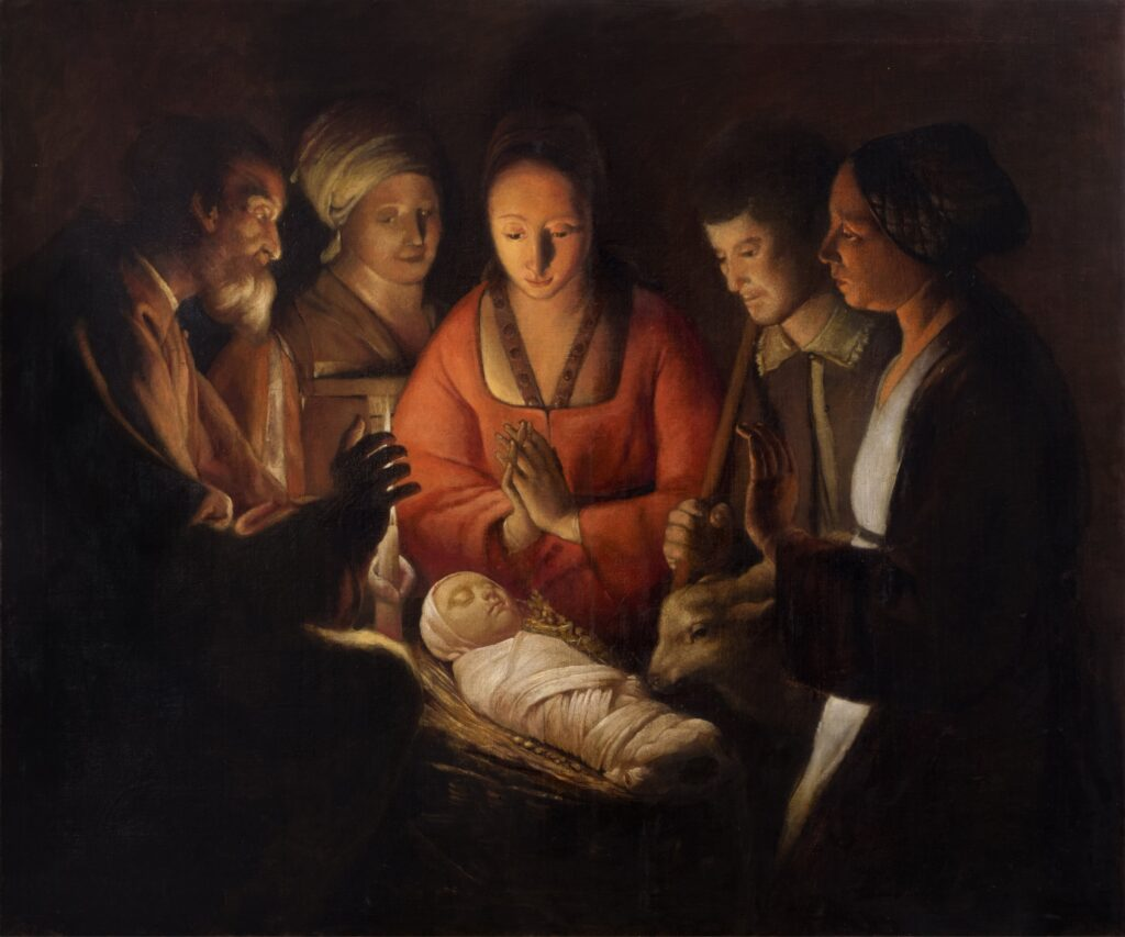 Natività_da Georges De La Tour_85x100