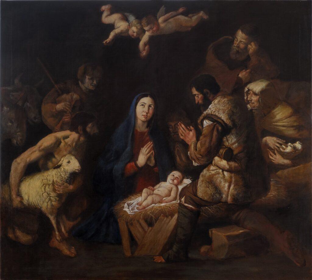 Natività_da Jusepe De Ribera_90x100
