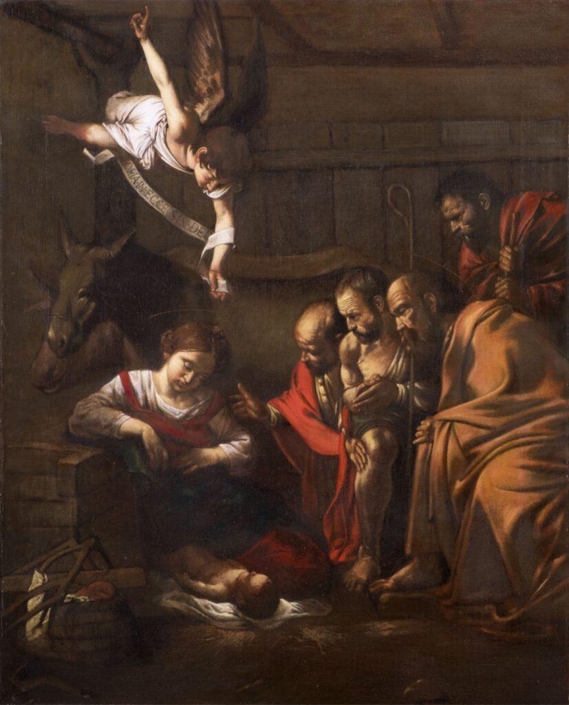 Natività_da Michelangelo Merisi (Caravaggio)_130x110
