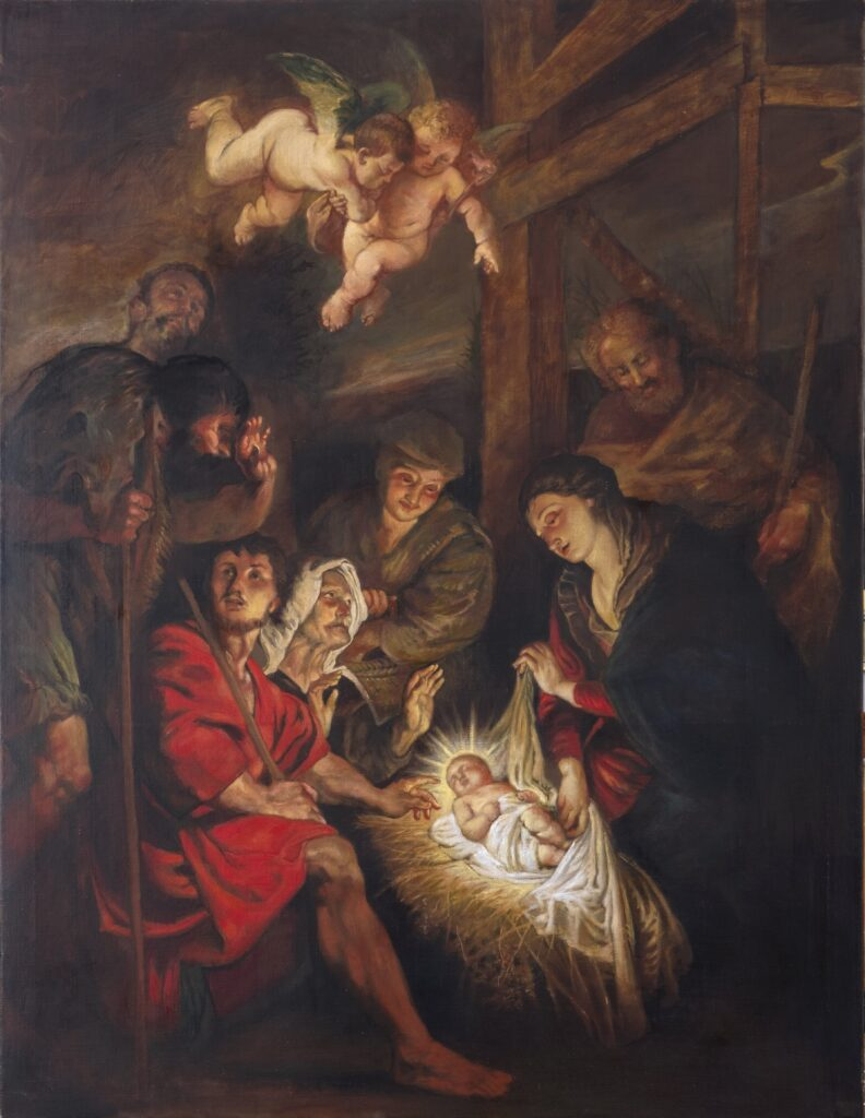 Natività_da Peter Paul Rubens_130x110